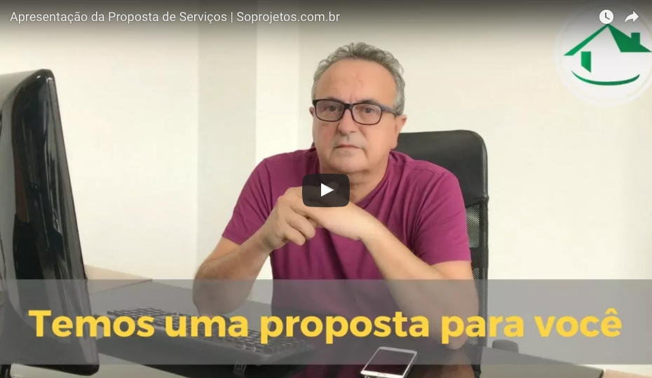 Video proposta soprojetos